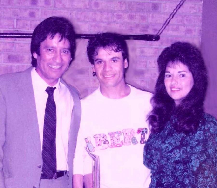 Carlos, Juan Gabriel, & Melva Guzmán