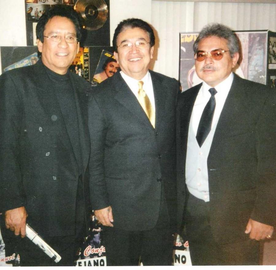 Carlos, Paulino Bernal, Armando Hinojosa