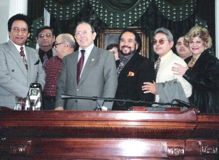 Carlos, Senator Carlos Truan , Sunny, Mando Hinojosa, Laura Canales, Javier Villanueva