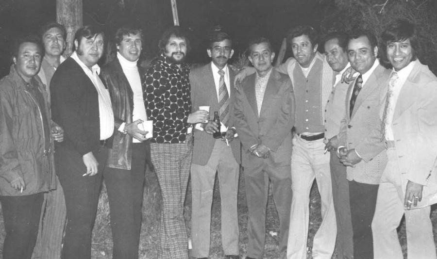 Raul H., Armando Hinojosa, Jaime Ruiz, Ezequiel, Nano, Rogelio Botello, Chicho Jacobo, Hugo De la Cruz, Carlos Cantu & Carlos